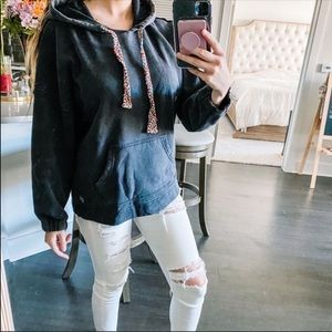 Free People Movement Gray Long Sleeve Hoodie